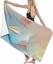 Yaxinduobao Strandtuch Papier Flugzeuge Origami