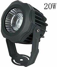 YaXuan 20W LED Hochwasser Light, Wasserdichte Spot