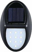 YAXuan Lampe 10 LEDs Licht, Solar Wandleuchte,