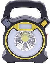 YAXuan Lampe Flutlicht, wiederaufladbare 20 Watt