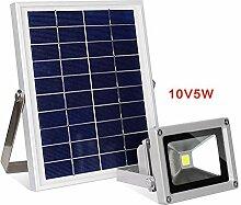 YAXuan Lampe LED Solar Flutlicht, Outdoor Notlicht