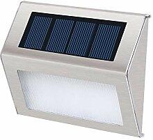 YAXuan Lampe Solar-Wandleuchte, wasserdichter