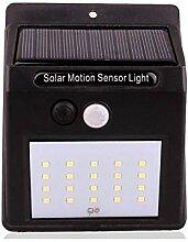 YAXuan Lampe Solarleuchten, 20 LEDs Solar