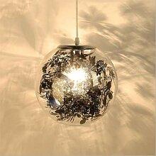 YAYONG Kronleuchter Glaskugel Schlafzimmer Lampe