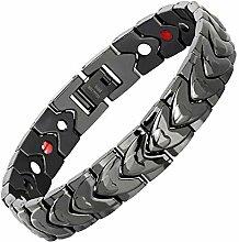 yayoushen Armband, Titan-Stahl Herren Armband