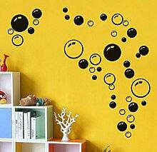 YAZCC Blasen Kreis DIY Abnehmbare Selbstklebende