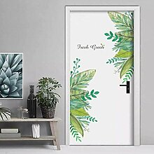 YAZCC Frische grüne gartenpflanze Baseboard