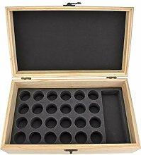 YAzNdom Aufbewahrungsbox Für ätherische Öle 25