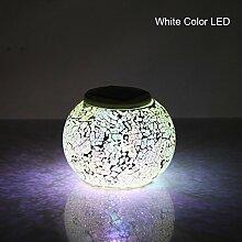 YBK Tech Kristall Glas Globe Ball Magic RGB Mosaik