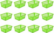 YBM Home Kunststoff perforiert Aufbewahrungskorb