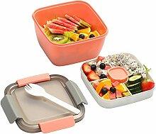 YBOBK Home Salat To Go Behälter, 50 oz Salat