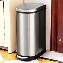 YBWEN Mülleimer Große Recyclingbehälter 40L