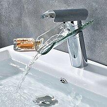 YCEOT Chrom Waschbecken Wasserhahn Badezimmer