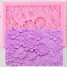 YCEOT Flower Lace Cake Border Silikonformen