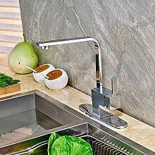 YCEOT Küchenarmatur mit Schwenkauslauf und