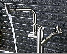 YCEOT Küchenarmatur/Wasserhahn, Nickel