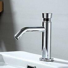 YCEOT Waschbecken Wasserhahn Zeitverzögerung