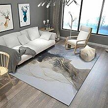YCMXMY Teppich Kurzflor Modern Trendig Design