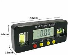 Ycncixwd Mini Digital Winkelmesser Winkelsucher
