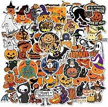 YCYY 100Pcs Neue Halloween Aufkleber beängstigend