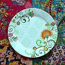 YDC plate Tafelservice Unterglasurfarbe keramische
