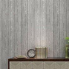 YDCG Vintage Holzmaserung Tapete Für Schlafzimmer