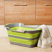 YDD Kinder Wasch Wanne Faltbar Kleider Korb
