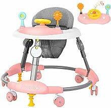 YDDHQ Baby Lauflernhilfe, Klappbar Baby Gehhilfe
