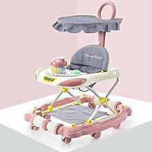 YDDHQ Lauflernwagen, Gehfrei Lauflernhilfe Baby