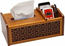YDOZ Haushalt Tissue Box Multi-Funktions-Tray