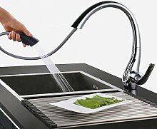 YDYDYD 360° drehbar Wasserhahn Küche Armatur