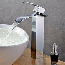 YDYDYD Wasserfall Wasserhahn Bad Einhandmischer