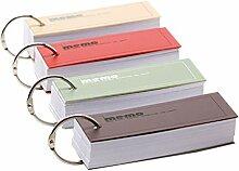 YeahiBaby 4Tragbare Mini Notebook