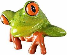 YeahiBaby Frosch Dekoration Ornamente Dekofigur