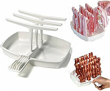 YEARGER Abnehmbare Bacon Tray Rack Mikrowelle