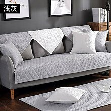YEARLY 100% Baumwolle Gesteppter Sofabezug,