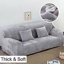 YEARLY Dick Stretch sofabezug, Short plüsch Volle