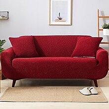 YEARLY Falten Sofa-Überwürfe, Sofabezug Volle