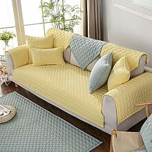 YEARLY Gesteppter Baumwolle Couch-Abdeckung,