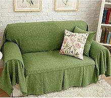 YEARLY Leinen Rock Couch-abdeckungen, Fit Couch