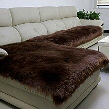 YEARLY Long Plüsch Sofabezug, Luxuriös