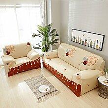 YEARLY Schmutzabweisend Sofa-Überwürfe, Volle
