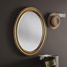 Yearn Sehnen, Perlen Oval Wandspiegel, 86x 66cm
