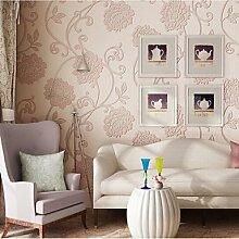 YEbao 3D Tapete Für Zu Hause Retro Wand Die Nicht Gewebe Material Benötigt Tapete Zimmer Wandelement Yan Pink