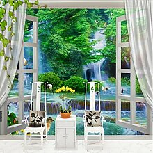 YEbao Botanische 3D Klassiker Tapete Für Moderne / Modernen Orientalischen Wandelement Leinwand Material Kleber Erforderlich Wandgemälde Zimmer Xxxl (448 * 280Cm) 254 Cm × Cm (416 Dollar)