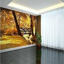 YEbao Botanische 3D Klassiker Tapete Für Moderne / Zeitgenössische Pastoralen Stil Wand Abdeckt Leinwand Material Werden Wandgemälde Xxxl (448 * 280Cm) 448 Cm × Cm (280 Us Dollar)