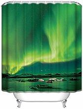 yeho Art Galerie Custom Schwarz und Weiß gestreift Wasserdicht Badezimmer Duschvorhang Polyester Stoff Vorhang für die Dusche Größe 60x 72durch Dusche Vorhang, Polyester, style 2, 66 x 72