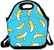 Yellow Banana Convenient Lunch Box Tote Bag Rugged