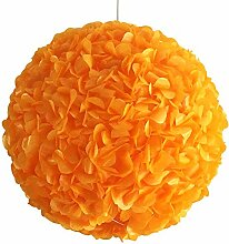 Yellow Orange Fluffy, Ø 32cm, Papierlampe