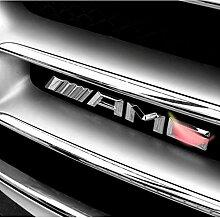 YELVQI AMG Metall Auto Aufkleber Aufkleber Emblem